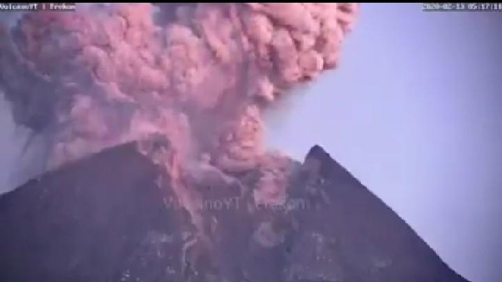 Innalillahi... Gunung Merapi Meletus