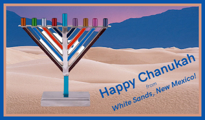 Chanukah White Sands