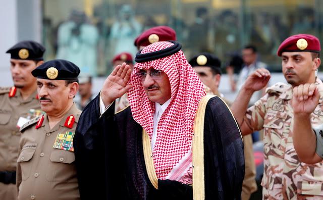Dituduh Rencanakan Kudeta, Eks Putra Mahkota Arab Saudi Dalam Bahaya