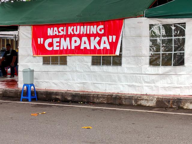 Nasi Kuning Cempaka