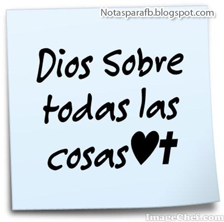 Dios sobre todo