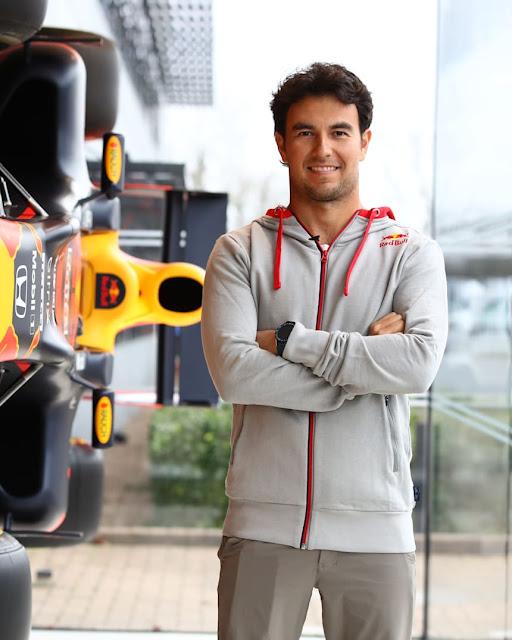 Sergio Perez Red Bull Formula 1