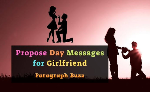 Propose Day Messages for Girlfriend