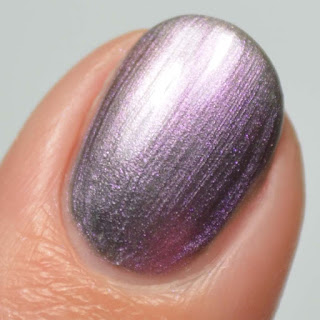 silver duo chrome nail polish