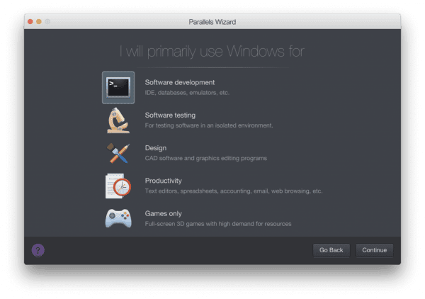Cách cài win bằng Parallels Desktop