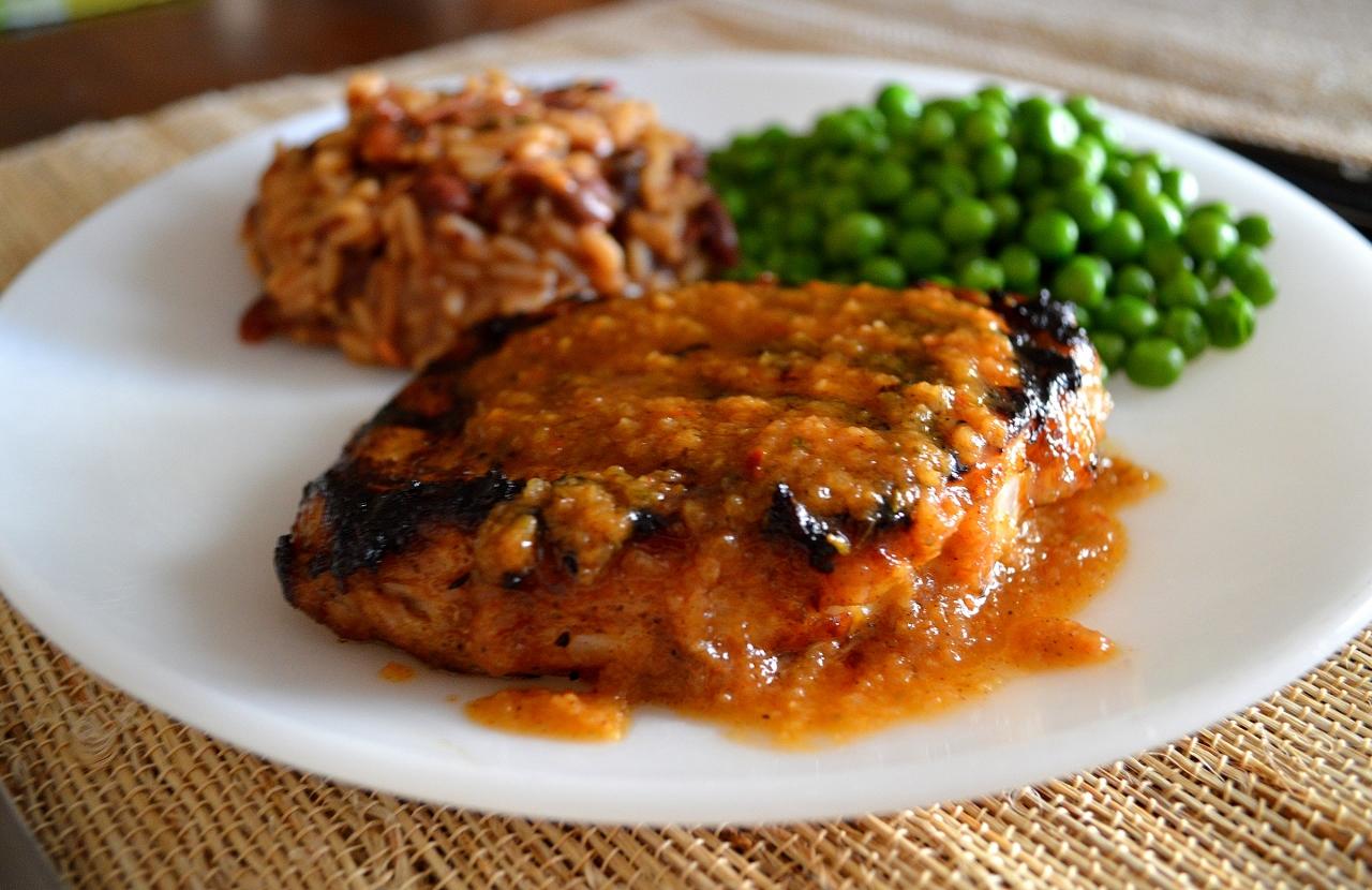 A Sunflower Life: Caribbean Jerk Pork Chops and Personal ...