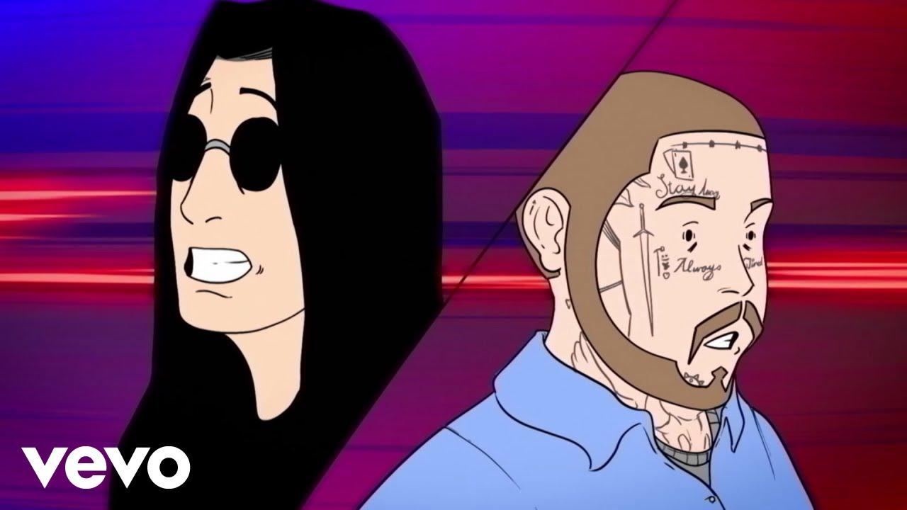 Ozzy Osbourne lanza video animado de 'It's A Raid' junto a Post Malone