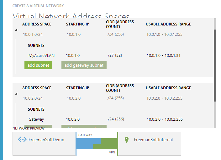 Azure Site-to-Site VPN with a Netgear FVS318N