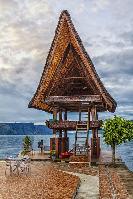 10 Places You Shouldn't Miss in Indonesia | Tabo Cottages, Lake Toba Indonesia