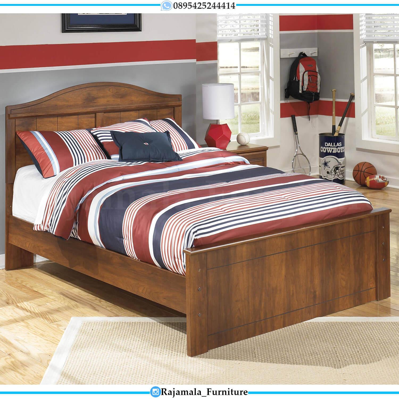 Tempat Tidur Anak Jati Perhutani Minimalis Best Quality Item RM-0440