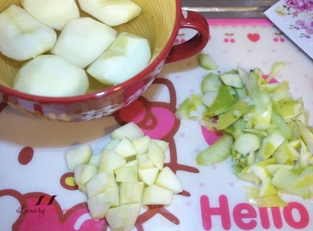 healthy living green apple salad recipe