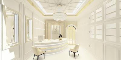 ผลงานการออกแบบคลินิค D lovely clinic ที่เชียงใหม่
