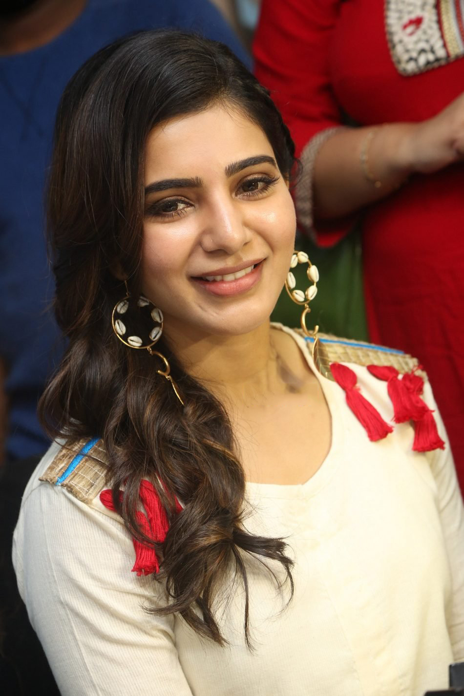 Samantha At V Care Clinic Launch Stills