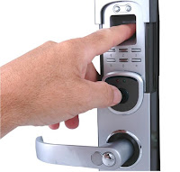 Locksmith Portland Biometric lock system