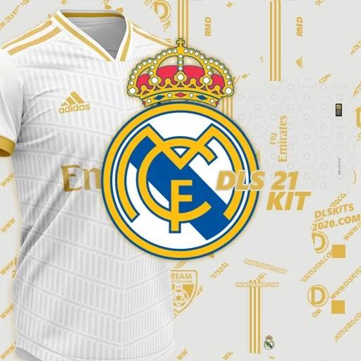 Real Madrid kits 2021-2022 Adidas - kit dream league soccer 2021