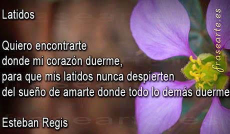 Frases de amor – Esteban Regis