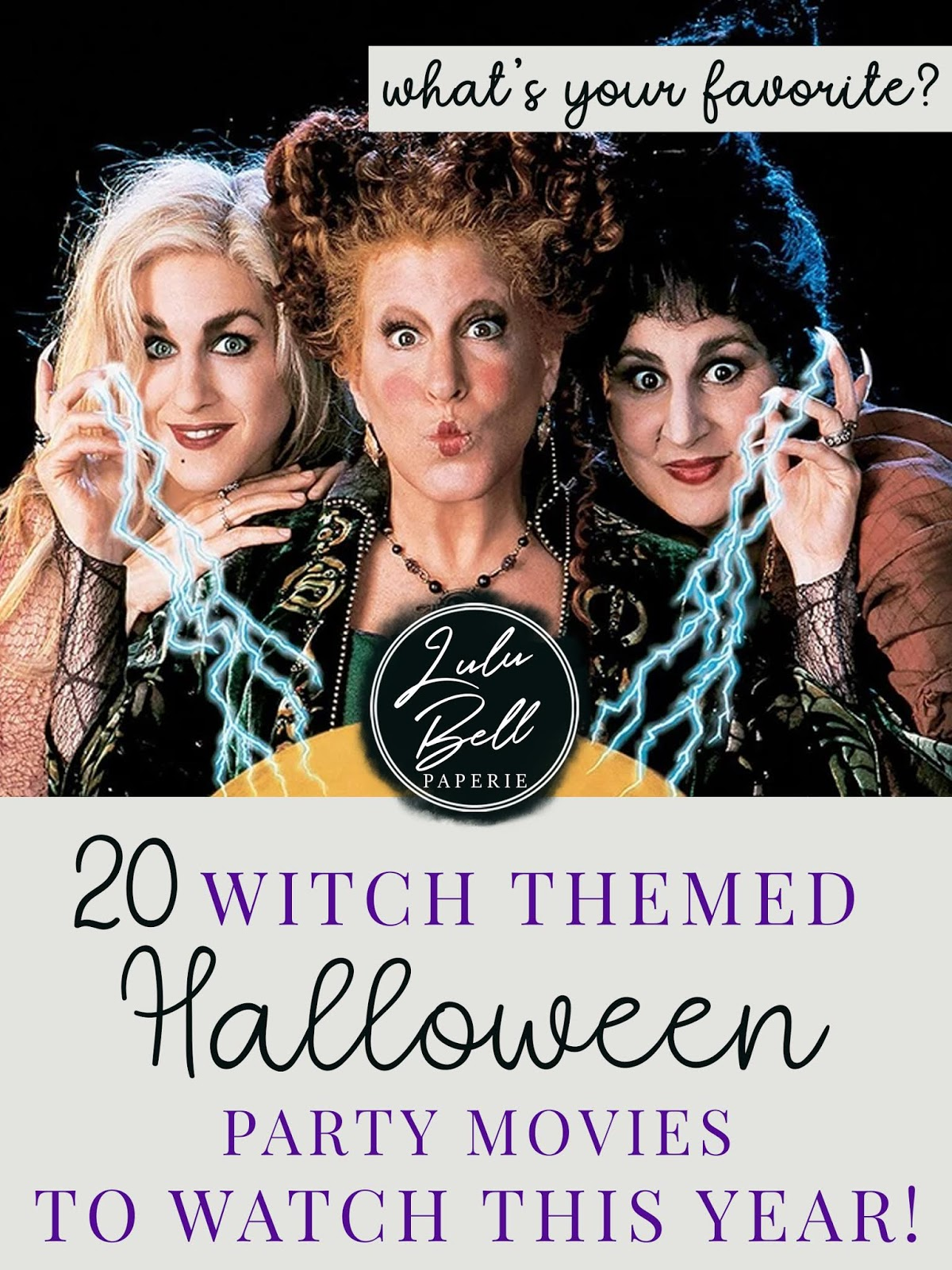 Top 20 Witch-Themed Halloween Party Movies to Watch This Year