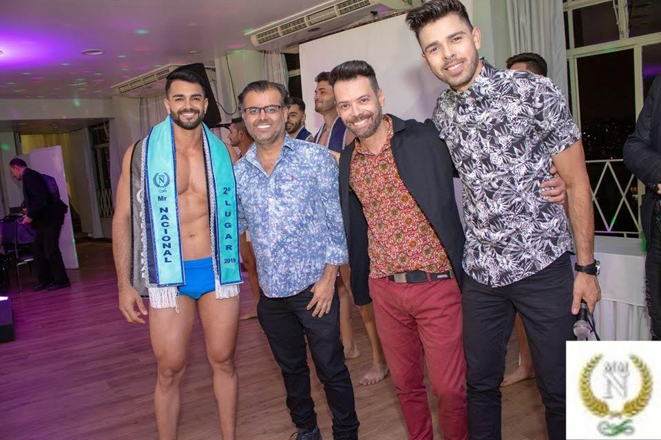Anderson Lopes, segundo colocado do Mister Model Nacional 2019. Foto: Neobeck Benedito