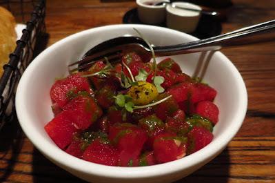 Fish & Meat, tuna watermelon