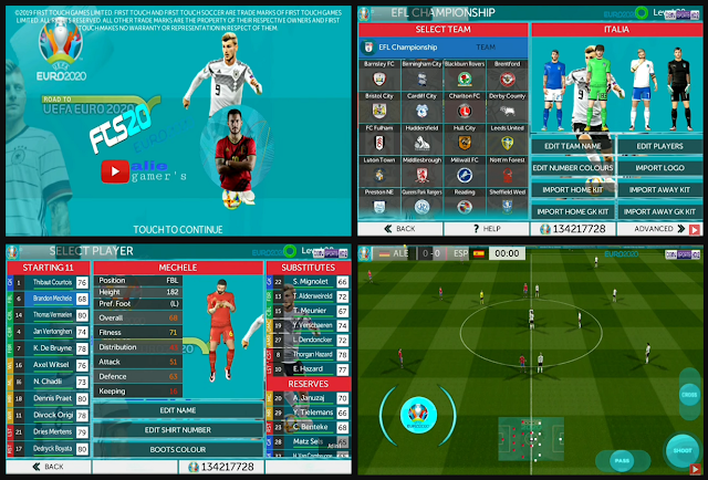 FTS 20 MOD UEFA EURO 2020 by Mprogaming