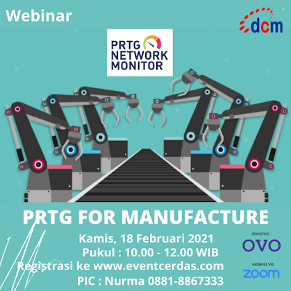 Webinar PRTG FOR MANUFACTURE - 18 Feb 2021