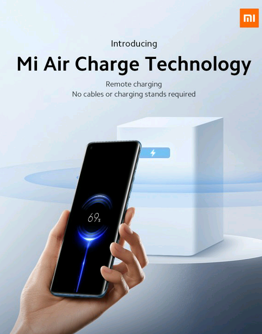 Xiaomi Introduces Mi Air Charge Technology – Charge Your Phone Over The Air