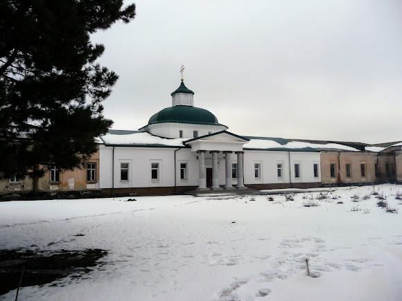 Самарський Свято-Миколаївський монастир. Свято-Преображенський храм