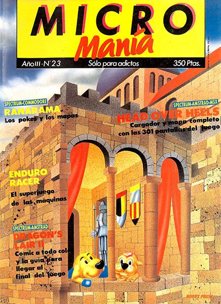 Revista Micromanía Número 23