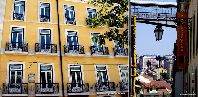 Bairro do Chiado, em Lisboa