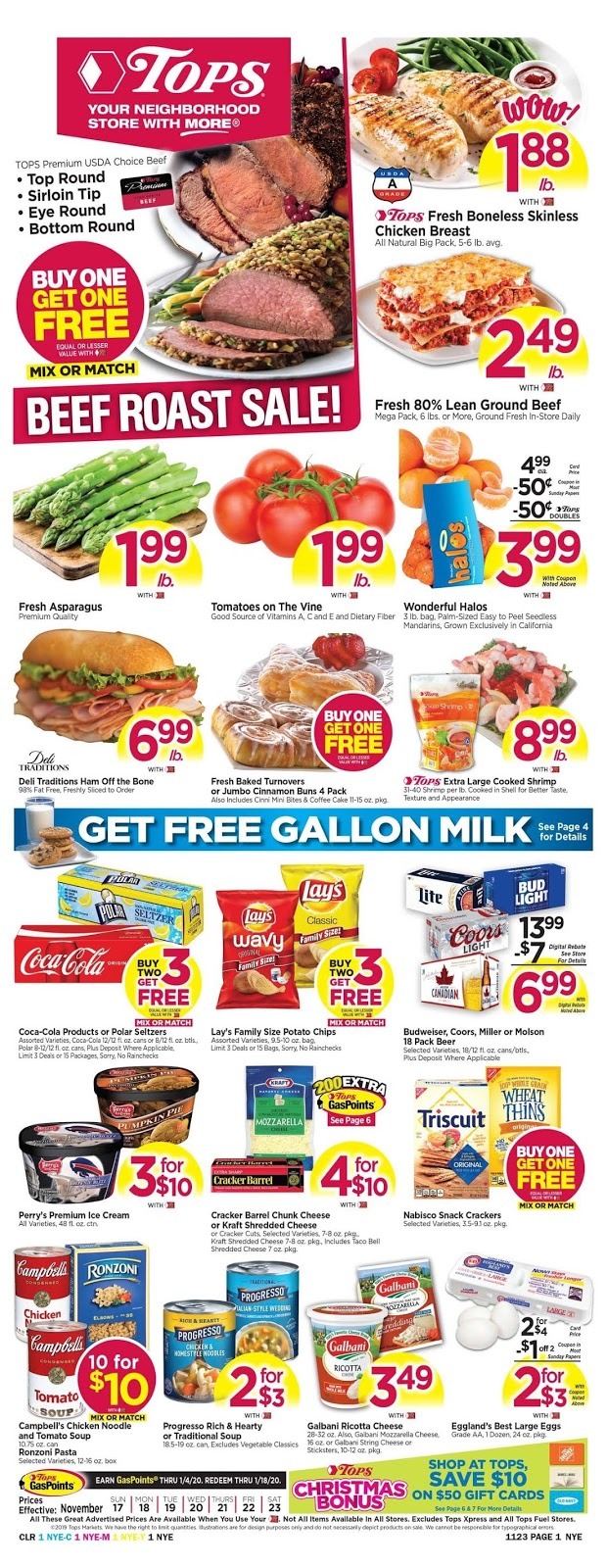 Tops Markets Weekly Ad