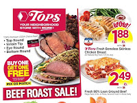 Tops Markets Weekly Sales December 8 - 14, 2019