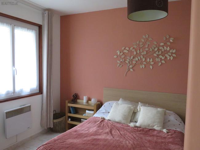 chambre cuivre rose