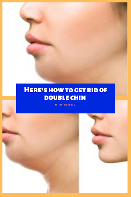 Here's how to get rid of double chin