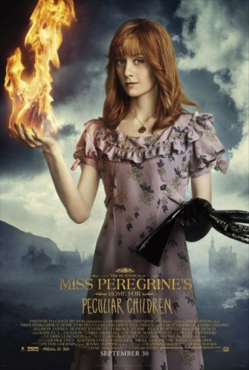 Miss Peregrines Home For Peculiar Children (2016) Movie Poster
