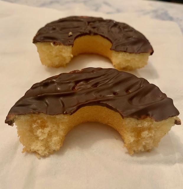 Jaffa Jonuts - Jaffa Cake Doughnuts (Tesco)