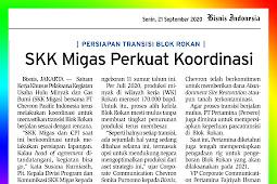 SKK Migas Strengthens Coordination