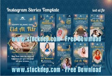 Download free Eid Al Fitr Social Media Stories