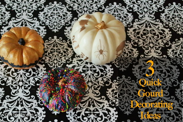 3 Quick Pumpkin Decorating ideas you need to try this Halloween