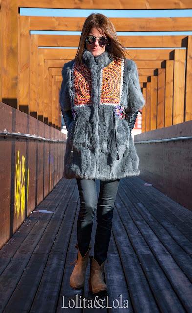 abrigo,boho,chic,piel,indi,hippie,bohemian,moda,coat.boho.gypsy.coat
