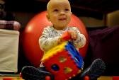 Babies learn through play