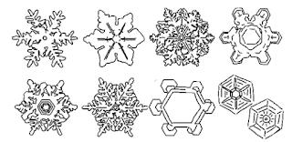 butiran salju yang bentuknya berbeda-beda www.simplenews.me