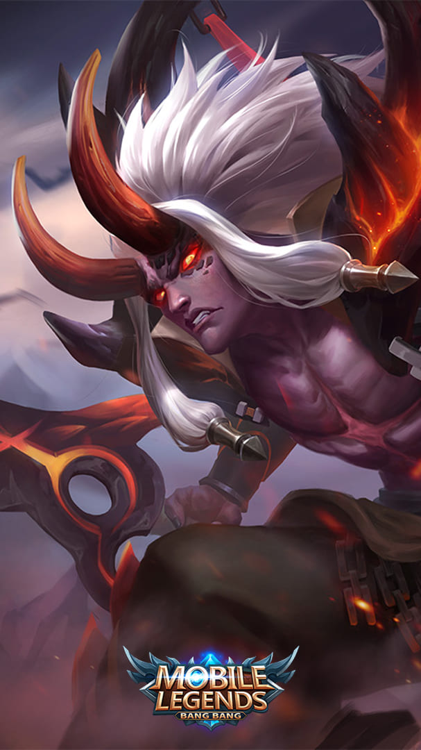 Wallpaper Martis Searing Maw Skin Mobile Legends HD for Android and iOS