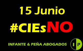 15 de Junio: Día contra los CIEs (#CIEsNO).