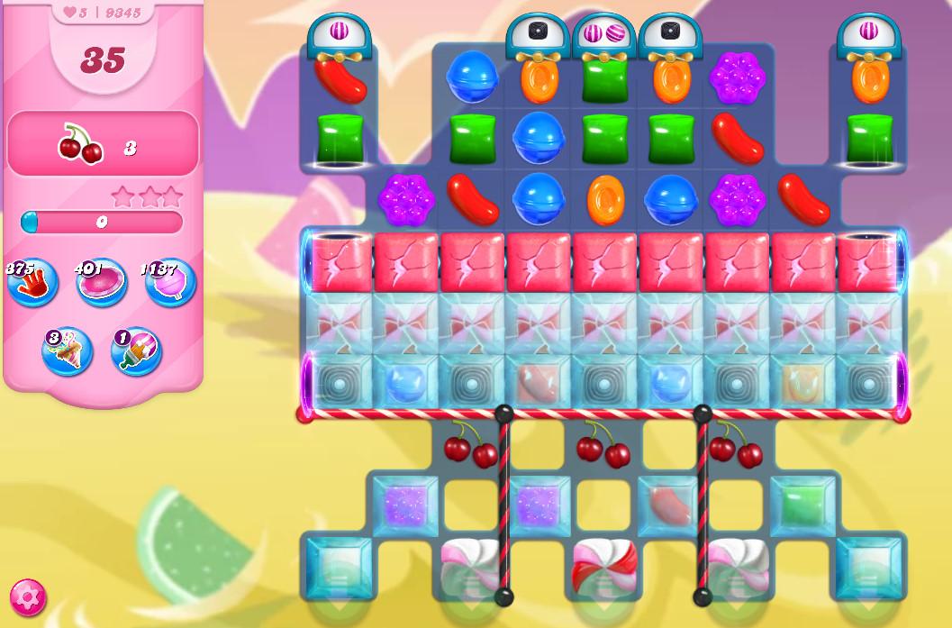 Candy Crush Saga level 9345