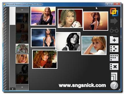 AutoCollage Touch 2.0.2009 build 0806 - Переносим изображения на полотно