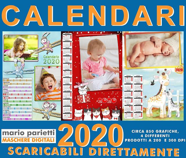 Calendari 2020 per fotografi