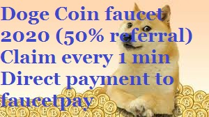 Doge Coin Faucet: A New Doge Faucet by SaikiaJiTech | Unlimited Earning every 1 min | Direct Payout to Faucetpay | Doge Faucet