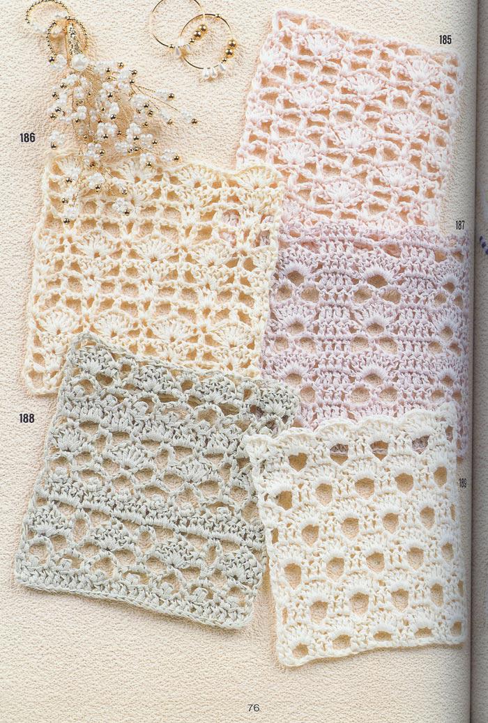 262 patrones gratis de puntos crochet todo crochet - Patrones de ganchillo ...