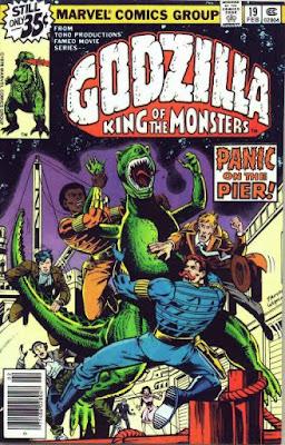 Godzilla #19