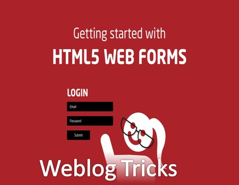How to create a web form in html